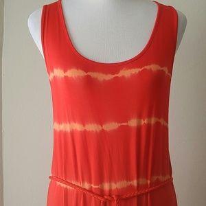 KENSIE tie-dye maxi dress